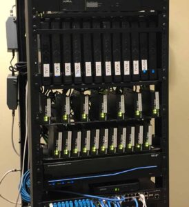 Video Distribution Rack