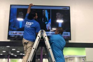 Commerical TV Mounting