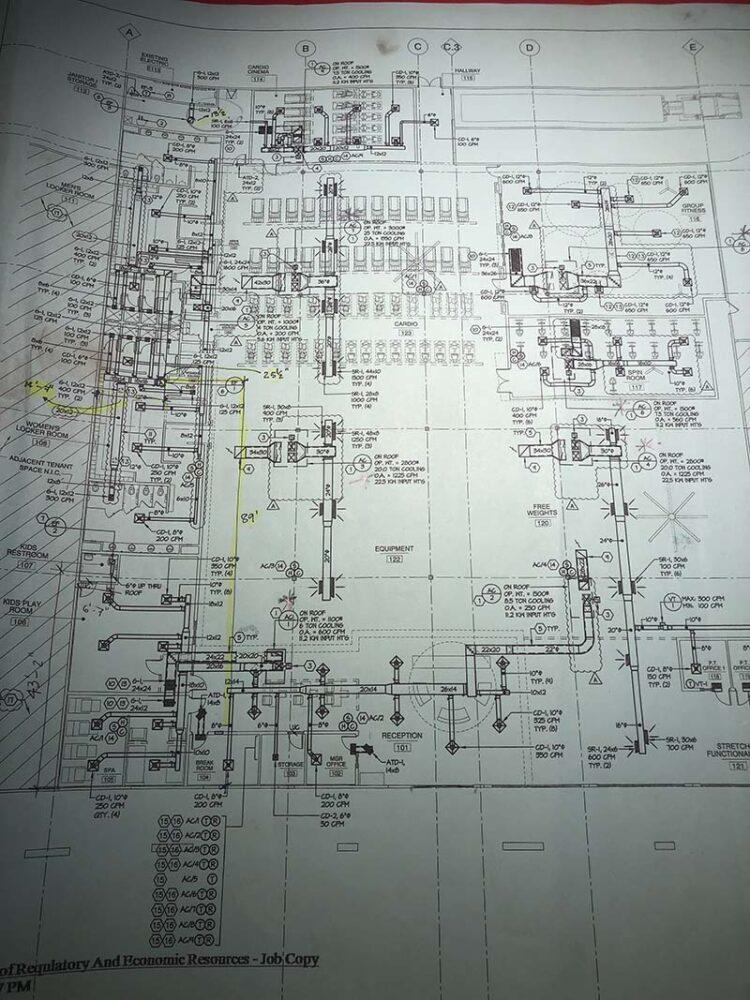 Job layout