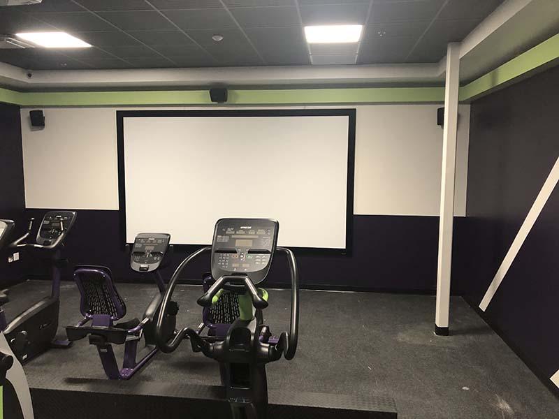 Gym Movie Theater