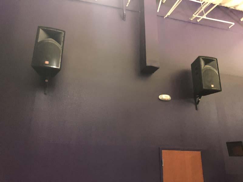 gym speakers