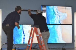 TV Video Wall Installation