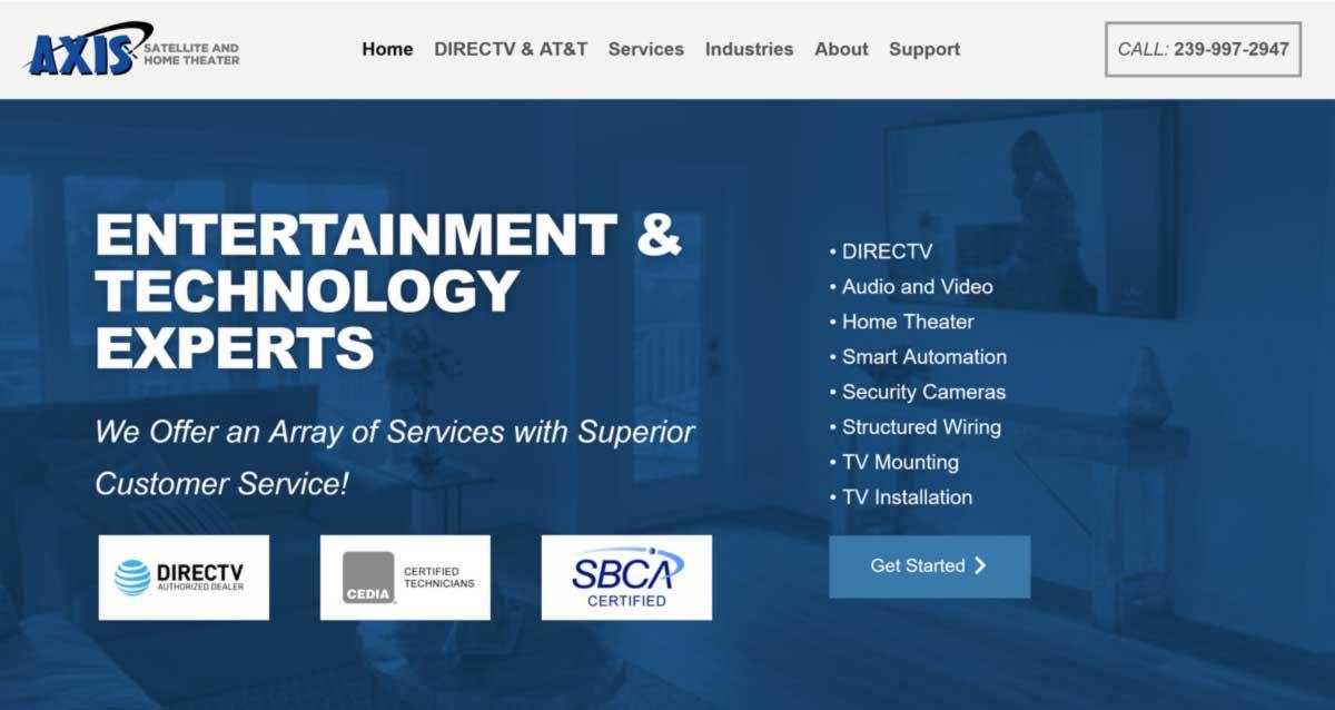 Entertainment & Technology Experts - AV Company