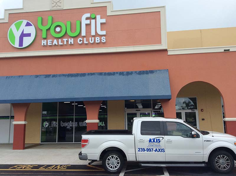 Youfit service call
