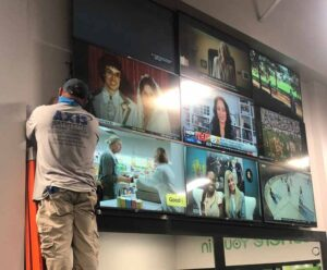 TV and Video Wall Installation