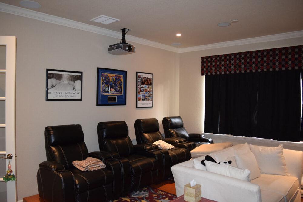 Projector Mount Cinema Room