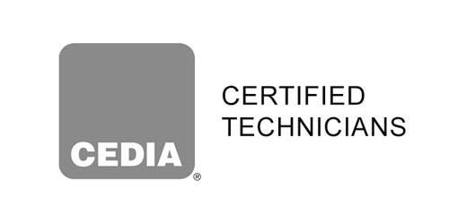 Cedia certified tech