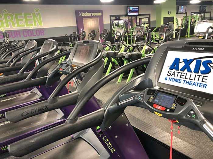 Gym AV Installation