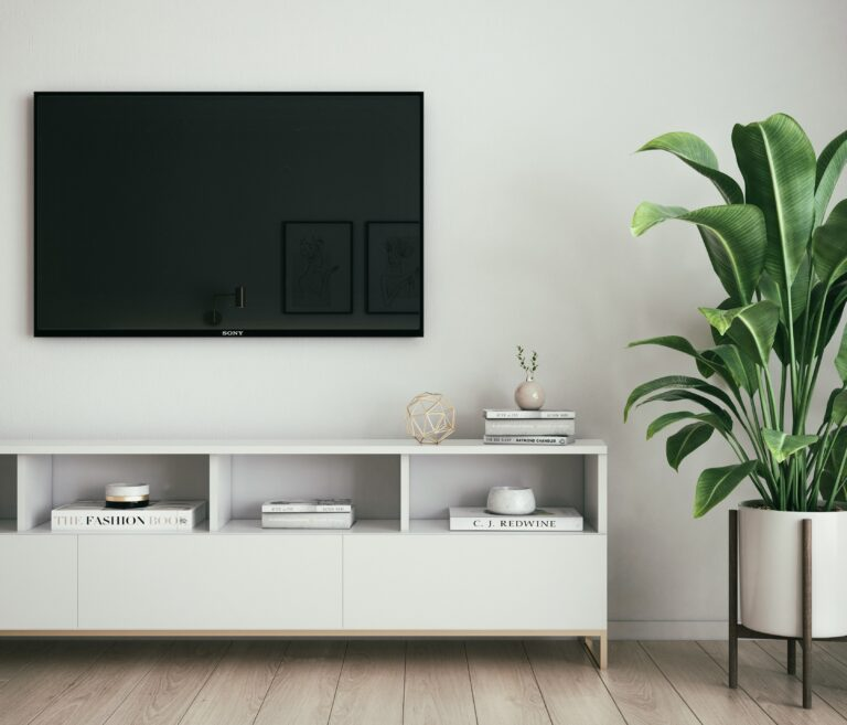 Where should you mount your TV in your house?
