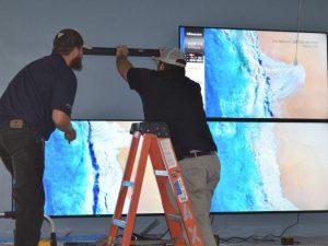 TV Video Wall Installation